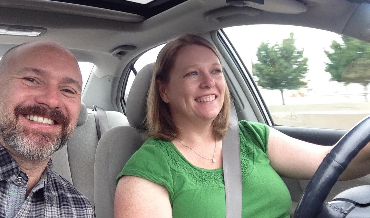 Hitting the Road - Jenny & Mark