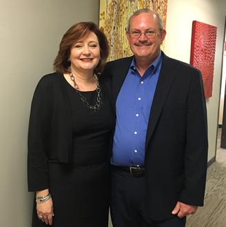 Pamela Miller and Michael Cummings