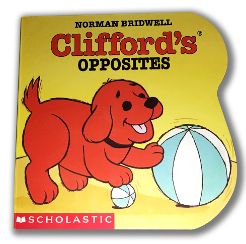 clifford book cutout