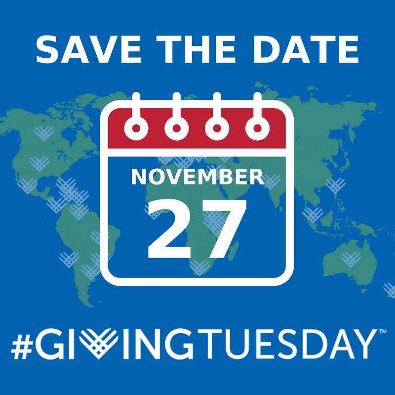Save the dategiving tuesday