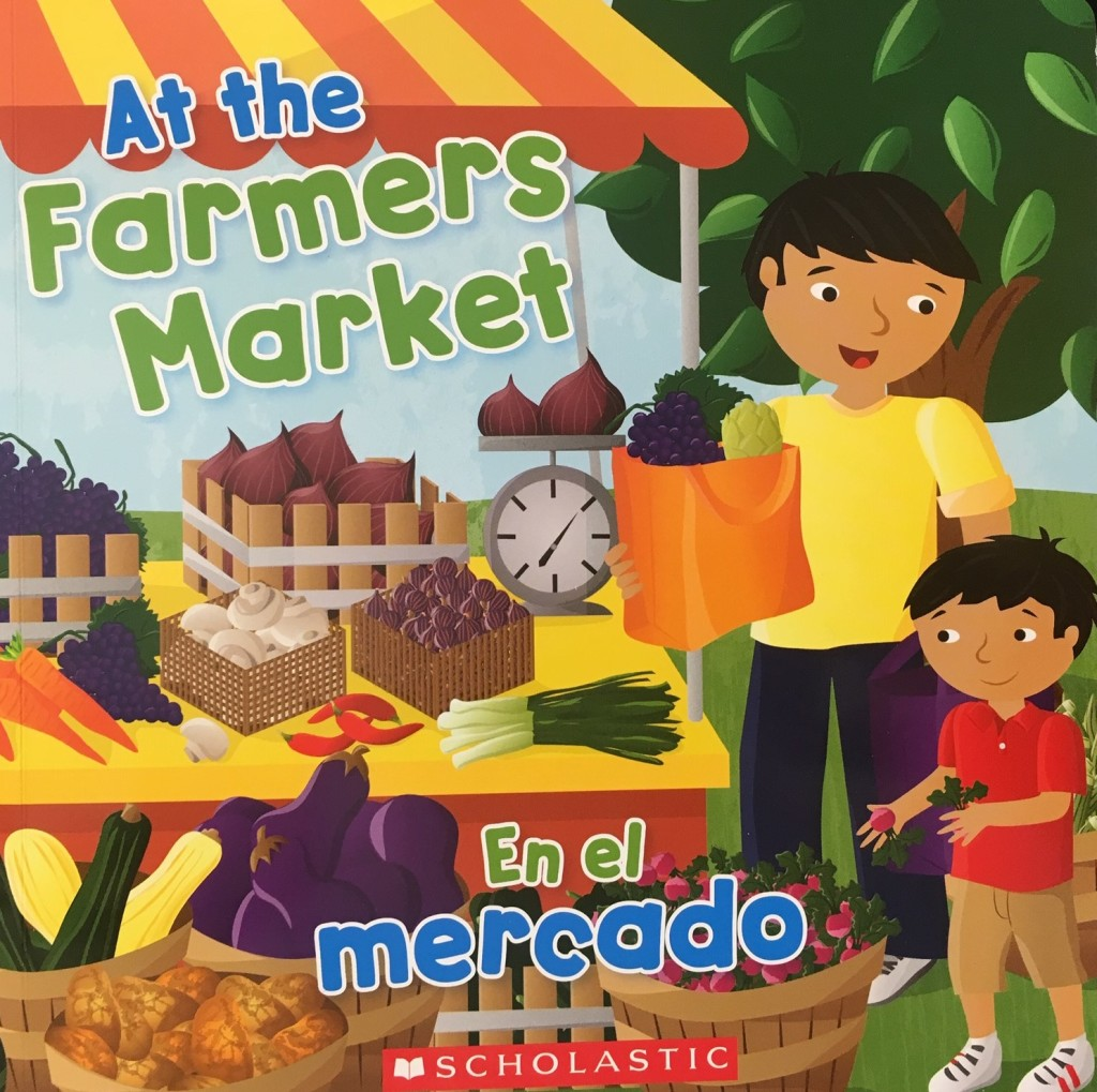 At the Farmer's Market book picture